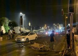 قوات الاحتلال تقمع المواطنين المقدسيين في منطقة باب العامود بالقدس المحتلة
