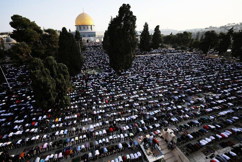 صلاة عيد الأضحى في المسجد الأقصى 1
