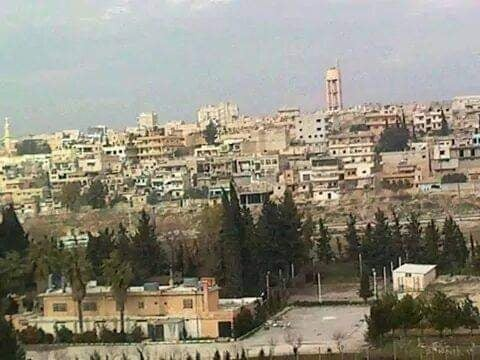 مخيم حندرات قبل دماره