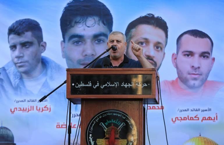 عضو المكتب السياسي لحركة الجهاد الإسلامي خالد البطش