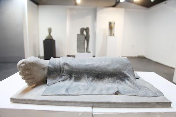 معرض فني يجسد معاناة مبتوري الأطراف في قطاع غزة 6