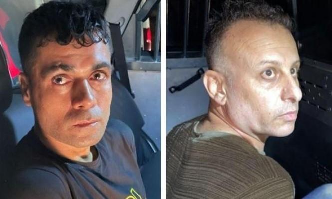 الأسيران يعقوب قادري ومحمد عارضة بعد اعتقالهما
