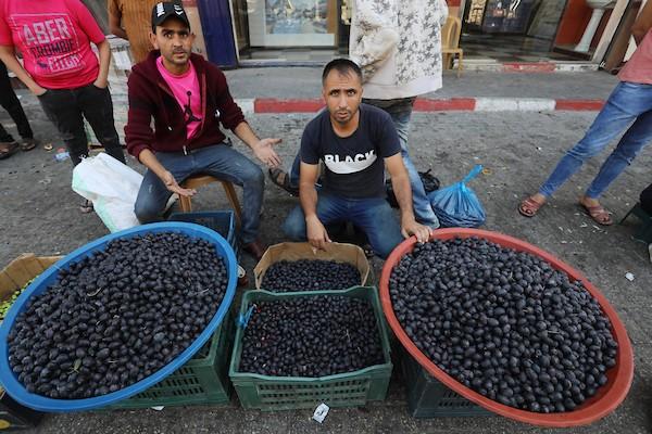 سوق خانيونس المركزي جنوبي قطاع غزة(49)