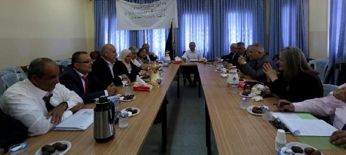صورالحكومةالفلسطينيةتعقدجلستهاالاسبوعيةبقريةفصايلفيالأغوار